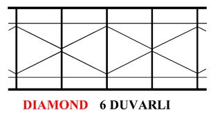 16mm 6 duvarlı polikarbon