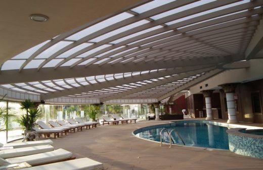 polikarbon çatı